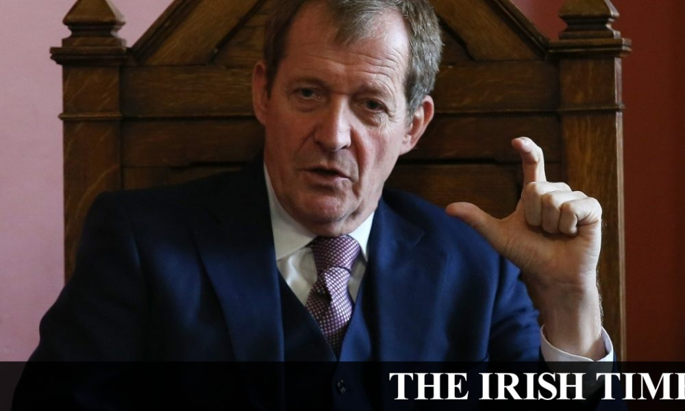 Irish backstop – Johnson won't get Brexit deal signed off by October 31st – Alistair Campbell