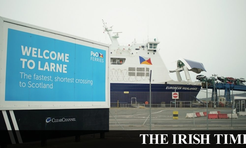 Irish backstop – 'We just won't put up with it': Truckers on Irish Sea border delays