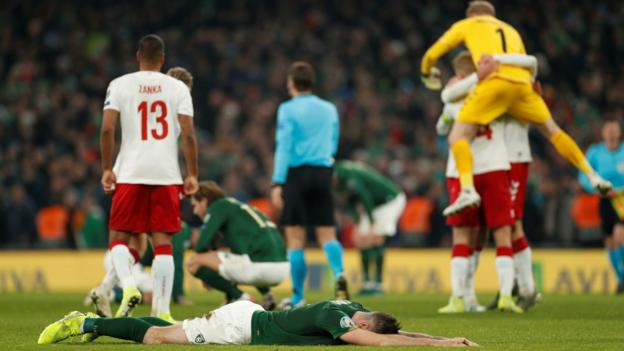 Northern Ireland Republic of Ireland: Denmark display offers hope for Euro 2020 play-offs