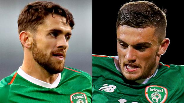 Northern Ireland Republic of Ireland: Robbie Brady and Troy Parrott in squad for crunch Denmark game