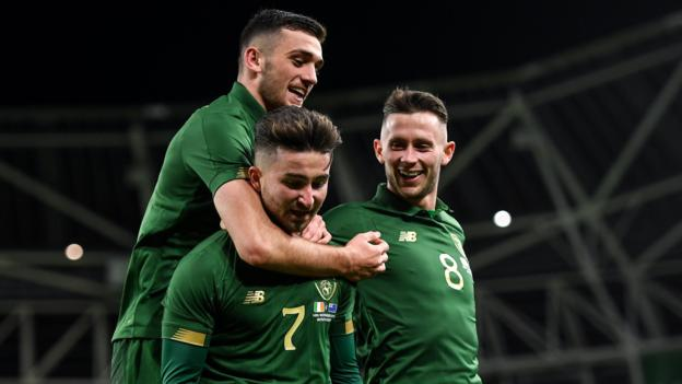 Northern Ireland Republic of Ireland 3-1 New Zealand: Trio score first international goals in friendly win