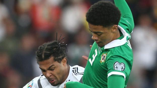 Northern Ireland Jamal Lewis: Norwich defender out of Northern Ireland v Germany game