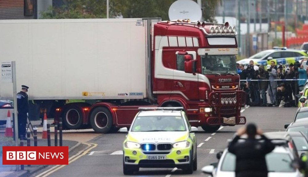 Northern Ireland Essex lorry deaths: County Armagh man charged