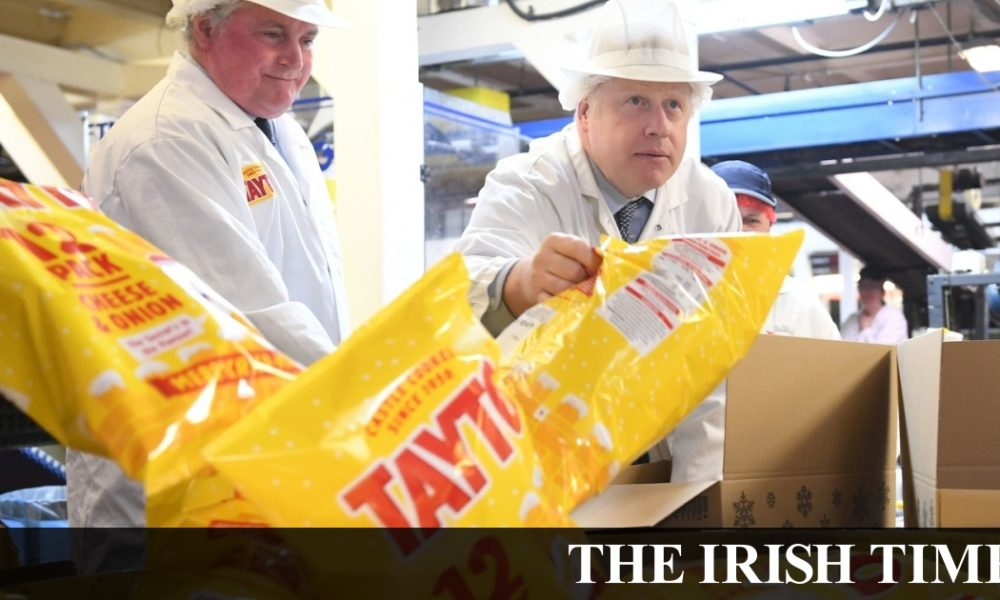 Irish backstop – You're taking the crisp, right? How Tayto in the North are different to Tayto in the South