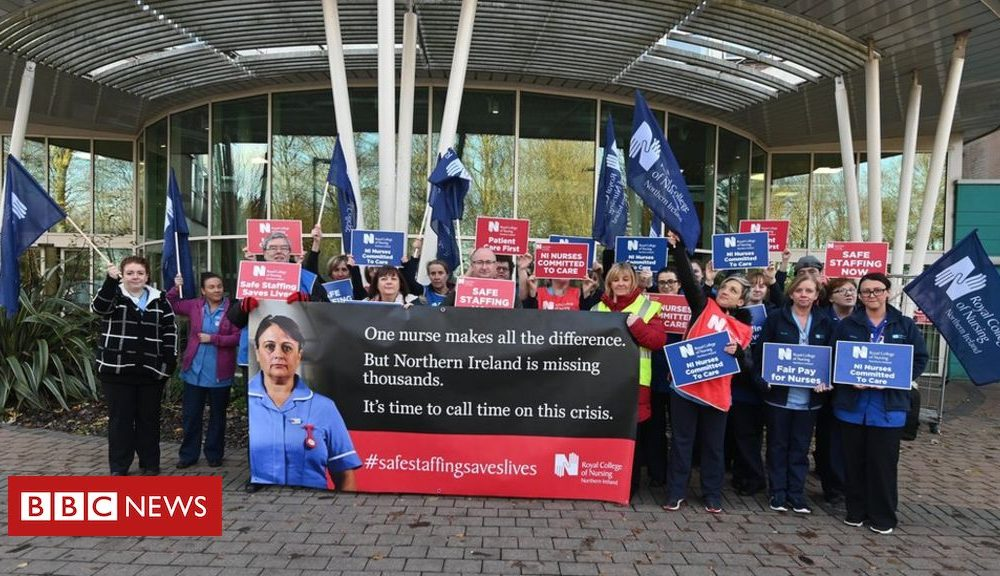 Northern Ireland Q&A: Why are Northern Ireland's nurses going on strike?