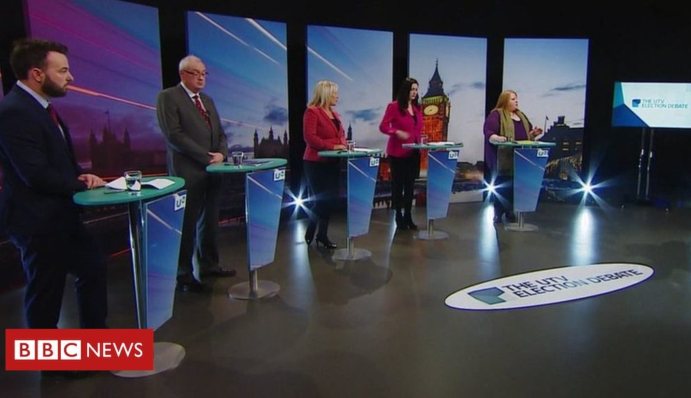 Northern Ireland General Election 2019: Parties clash during UTV election debate