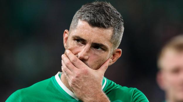 Northern Ireland Rob Kearney: Leinster full-back left out of Andy Farrell's 45-man Ireland squad