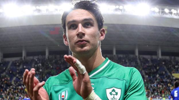 Northern Ireland Joey Carbery: Ireland fly-half to miss Six Nations because of wrist injury