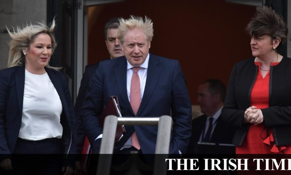 Irish backstop – Stormont reboot, but no specific financial commitment from Johnson