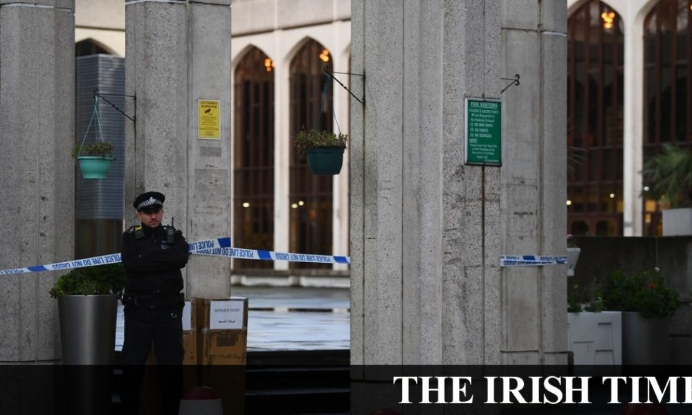 Irish backstop – Man arrested after stabbing at London Central Mosque