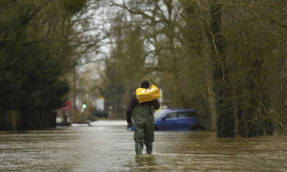 Boris Johnson – UK's Johnson under fire for flood response as more rain due