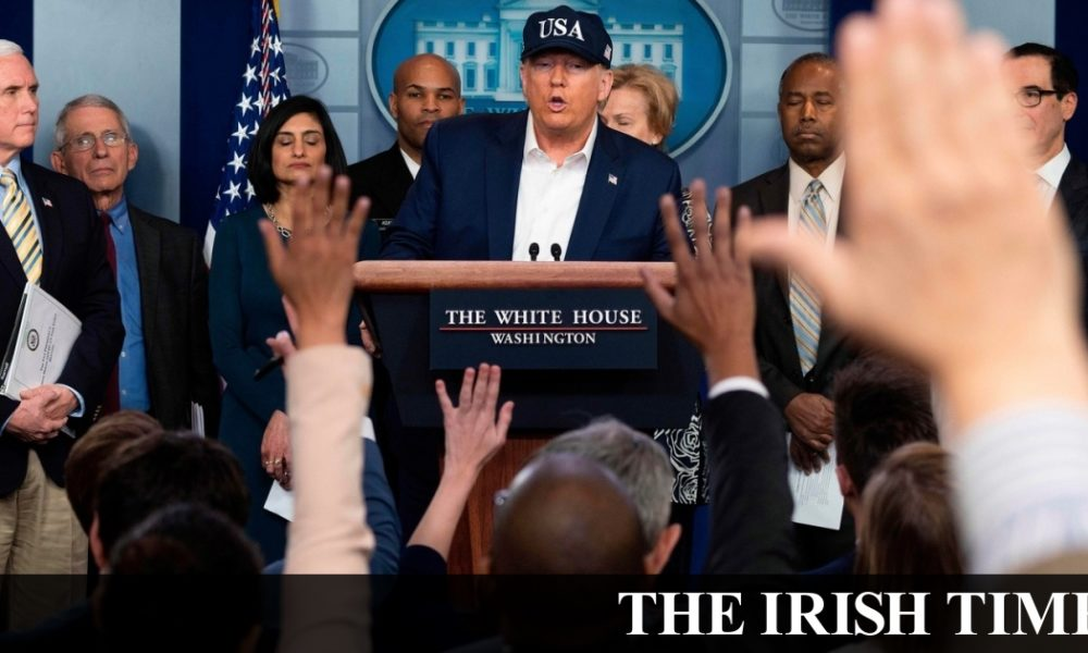Irish backstop – US extends travel ban to Ireland as Coveney warns against non-essential journeys to Poland