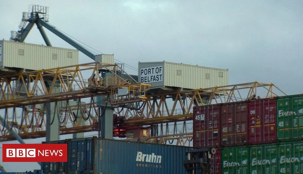 Northern Ireland Brexit: EU warns UK over goods checks between NI and GB