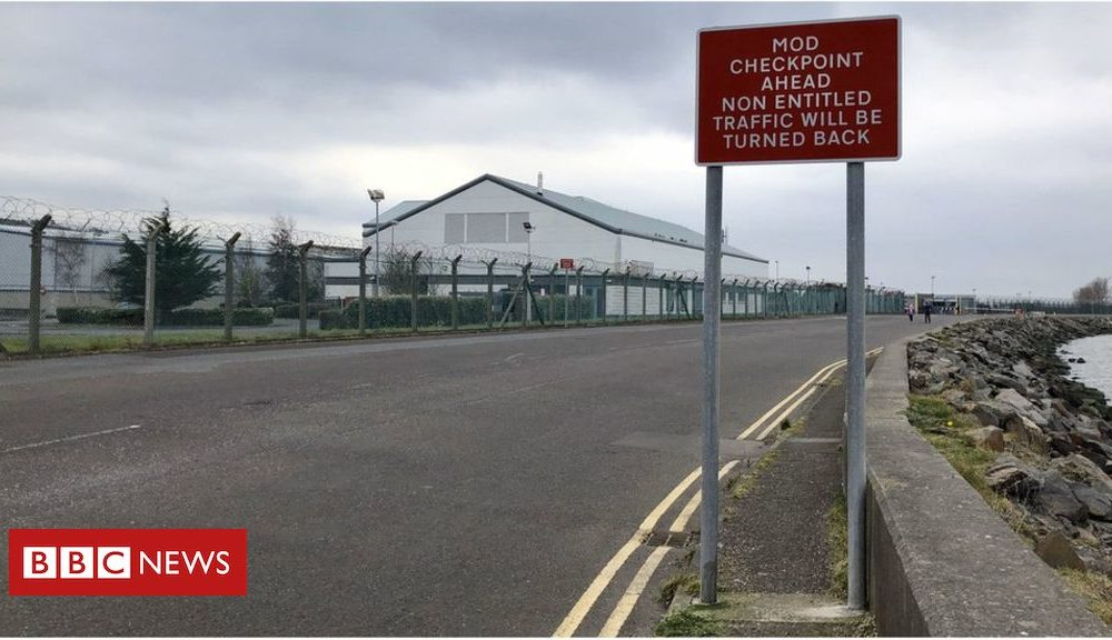 Northern Ireland Coronavirus: County Down Army base to be used as a mortuary