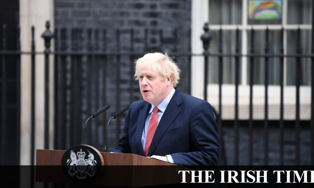 Irish backstop – Boris Johnson says UK starting to 'turn the tide' on coronavirus