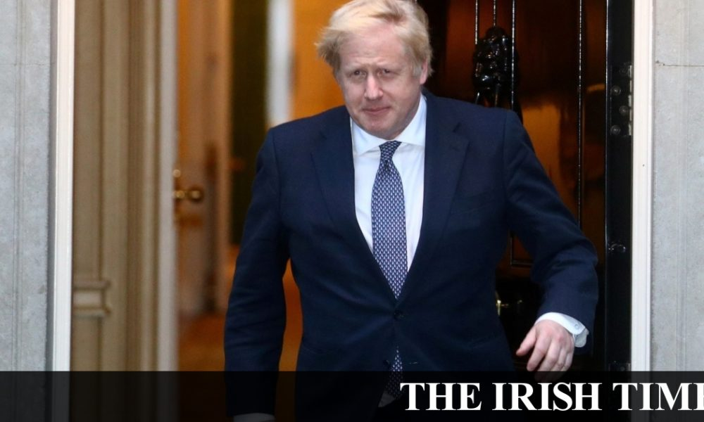 Irish backstop – With 'Stay Alert' slogan, Johnson to set out plan for gradual lockdown easing