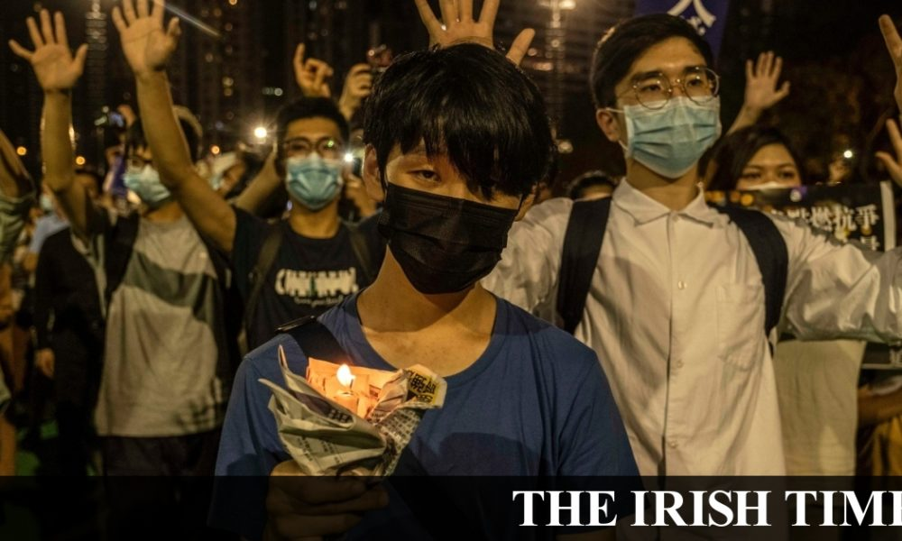 Irish backstop – Thousands defy ban in Hong Kong on Tiananmen anniversary