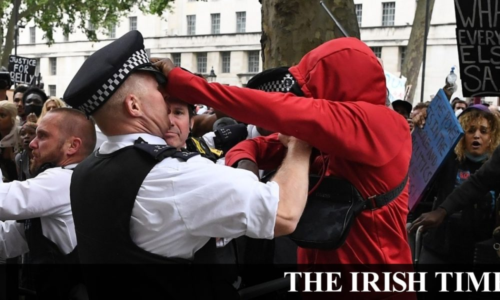 Irish backstop – Police clash with protesters after Black Lives Matter rally in London