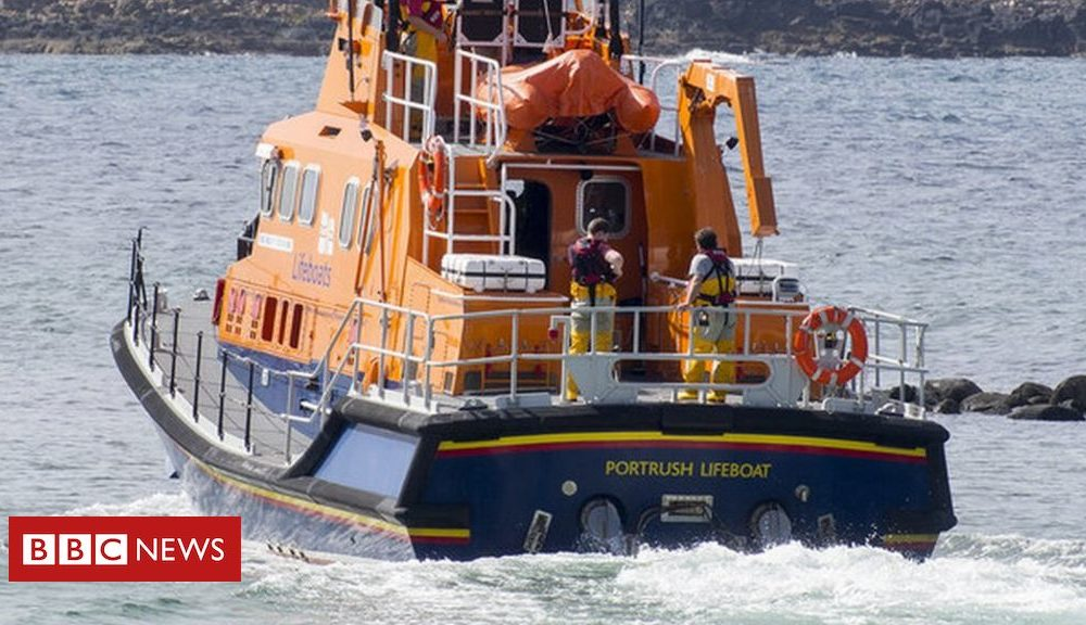 Northern Ireland 'Major incident' in water off north coast