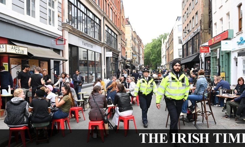 Irish backstop – 'It's beautiful just to get back': English pubs reopen as Covid-19 restrictions ease
