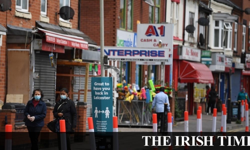 Irish backstop – Leicester lockdown could be just the start if tracing system not improved – Labour