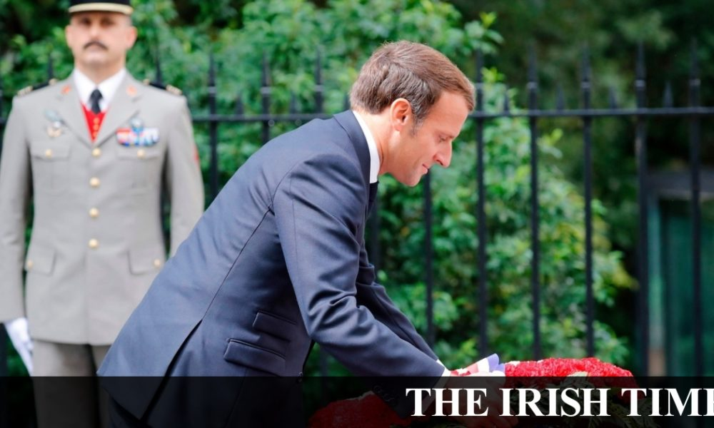 Irish backstop – Macron indulges in self-flattery with homage to Charles de Gaulle