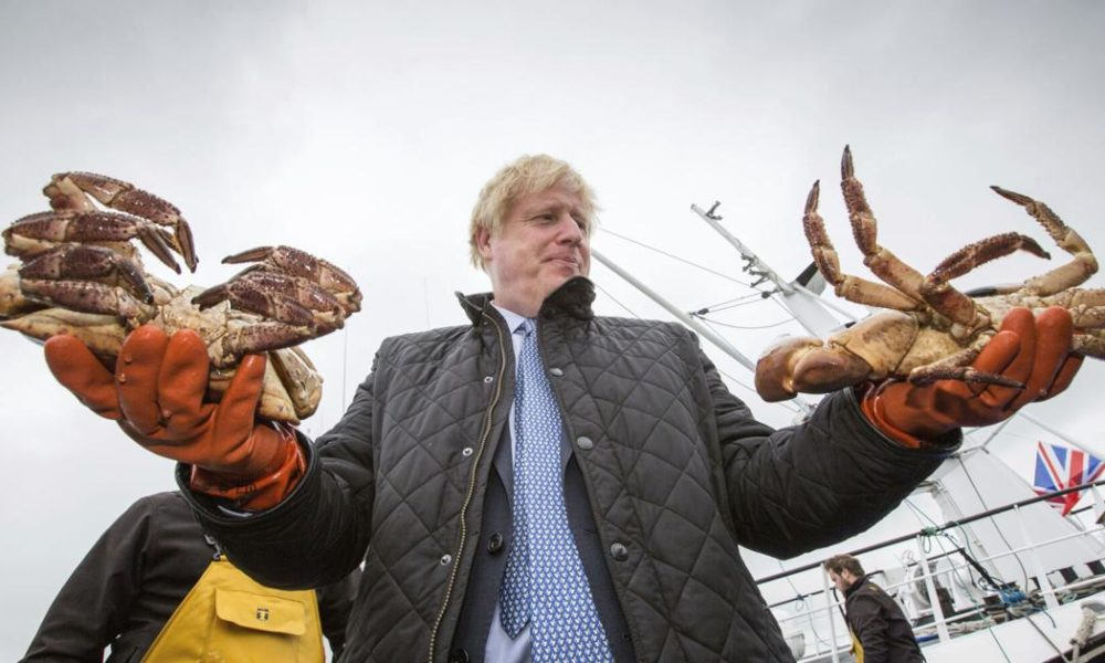 Boris Johnson – Johnson stresses 'sheer might' of UK as he visits Scotland