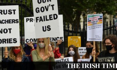 Irish backstop – Boris Johnson under pressure to intervene in A-level crisis