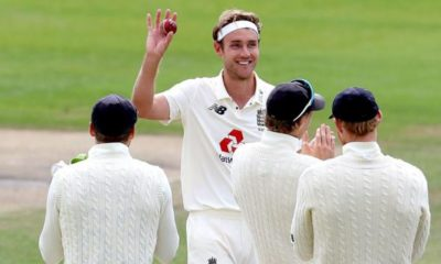 Northern Ireland England v West Indies: Stuart Broad and Chris Woakes inspire England to victory