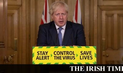 Irish backstop – Coronavirus: England postpones further easing of restrictions