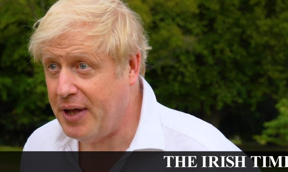 Irish backstop – Boris Johnson says he was 'too fat' when he contracted Covid-19