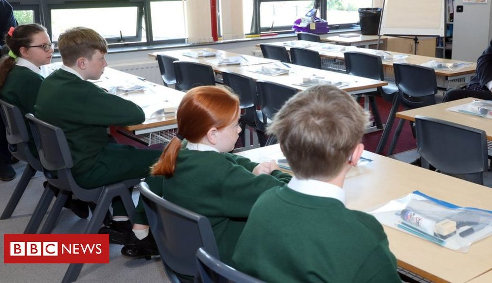 Northern Ireland Coronavirus: Return to schools 'good day for young people'
