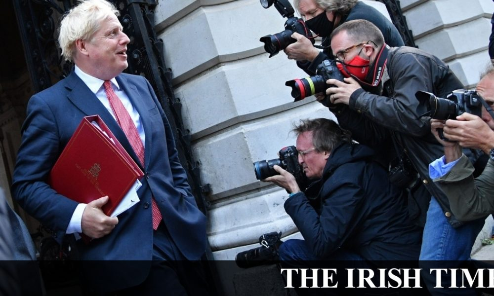 Irish backstop – Boris Johnson defends Covid record after summer of U-turns