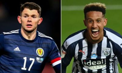 Northern Ireland Sheffield United sign West Brom's Oliver Burke, Callum Robinson goes to Baggies