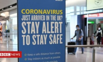 Northern Ireland Coronavirus: Second £1,000 fine issued in NI issued for travel breach
