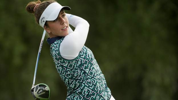 Northern Ireland ANA Inspiration: Mel Reid and Georgia Hall three shots off Nelly Korda's lead